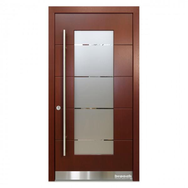 Haustüren modern aus Holz Origo FX 39 Origo FX 39 Lasurton Teak