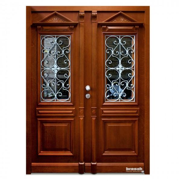 historische Haustüren aus Holz Paris 1