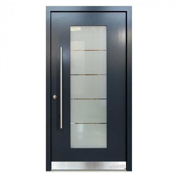 Haustüren modern aus Holz Origo 50 Ral-Farbe