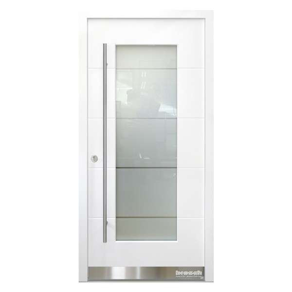 Haustüren modern aus Holz Origo FX 39 Origo FX 39 Ral 9016 weiß