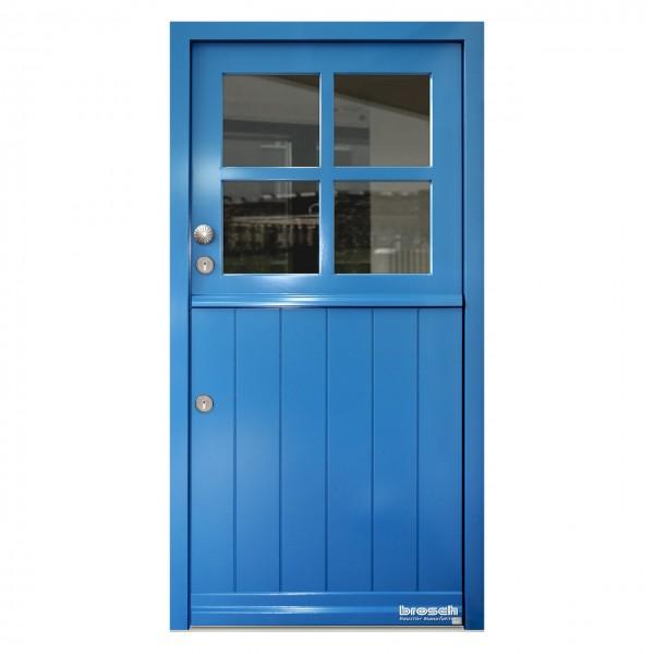 Haustüren im Landhausstil: Cottage Bornholm KL Ral-Farbe blau