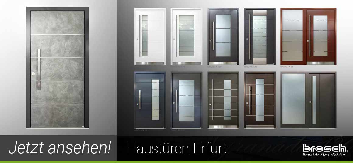 Historische Haustüren Erfurt