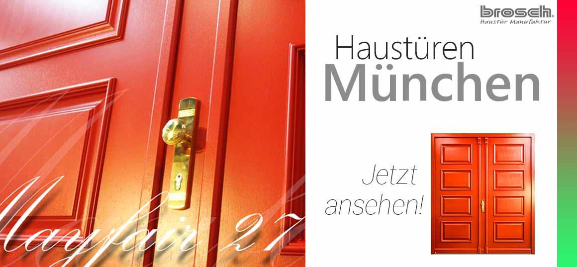 Eingangstüren München Brosch
