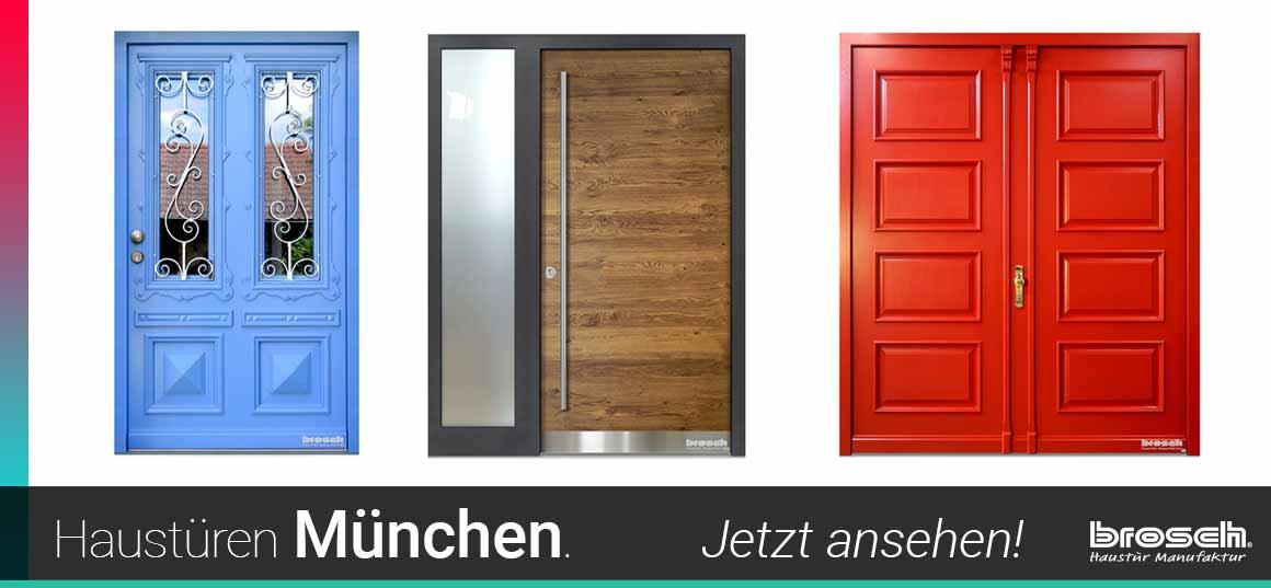 handgefertigte Haustüren München