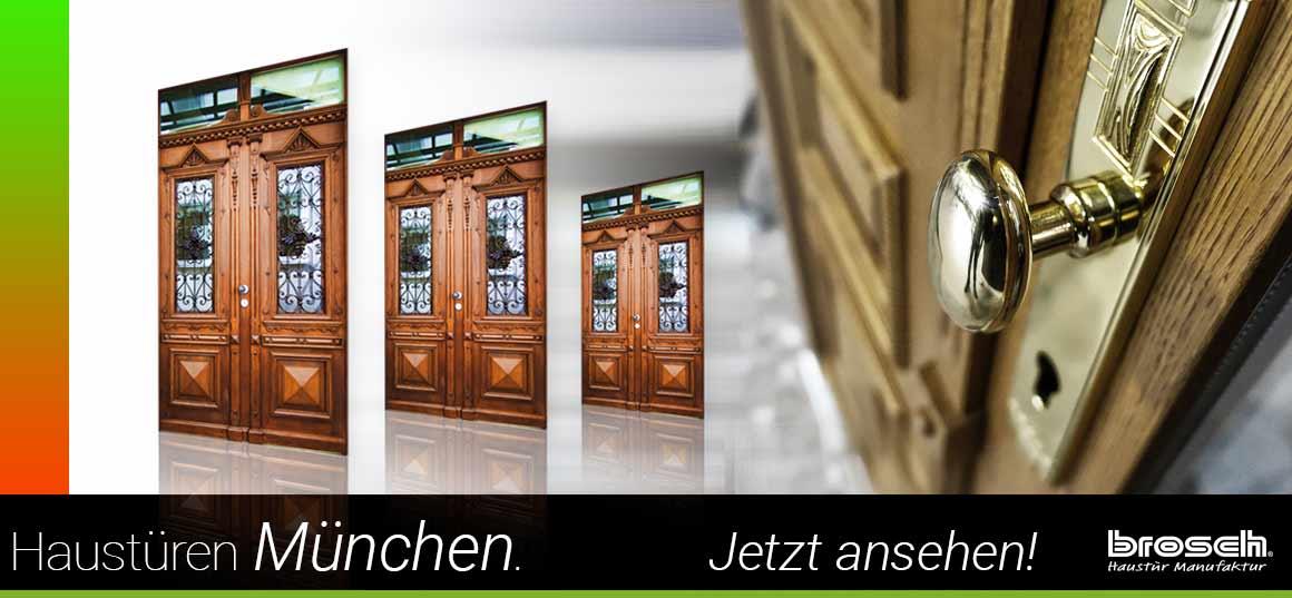 Historische Haustür aus Holz München