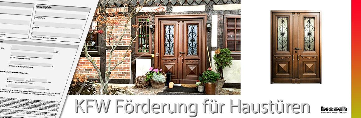 KFW Förderung neue Haustüren