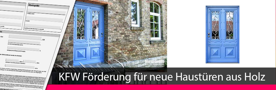 KFW Zuschuss neue Haustüren