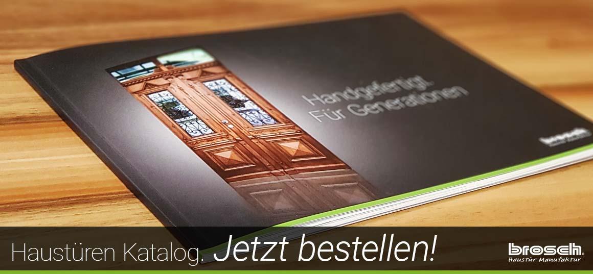 Haustüren Katalog anfordern