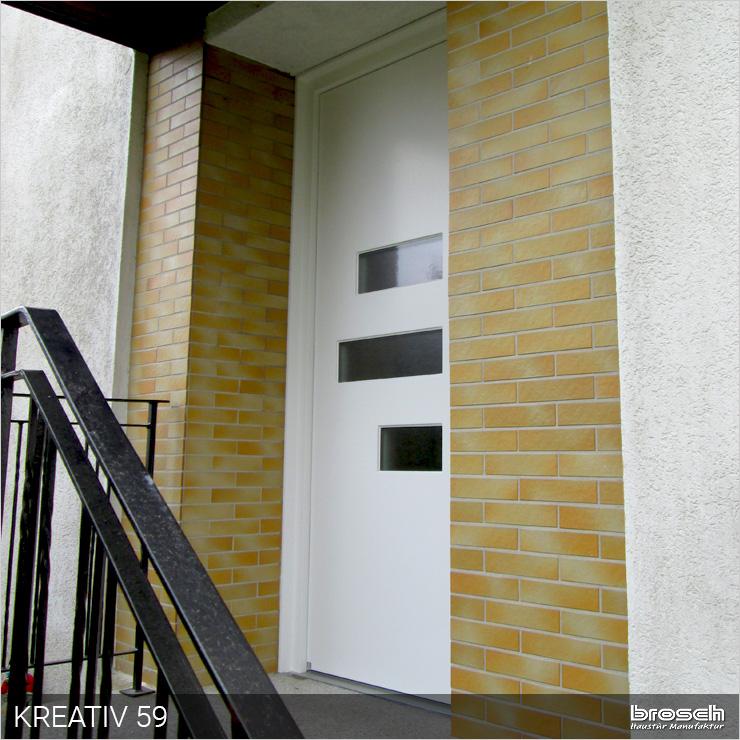 Haustüren modern weiß