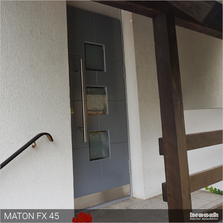 Aktuelle Türen grau