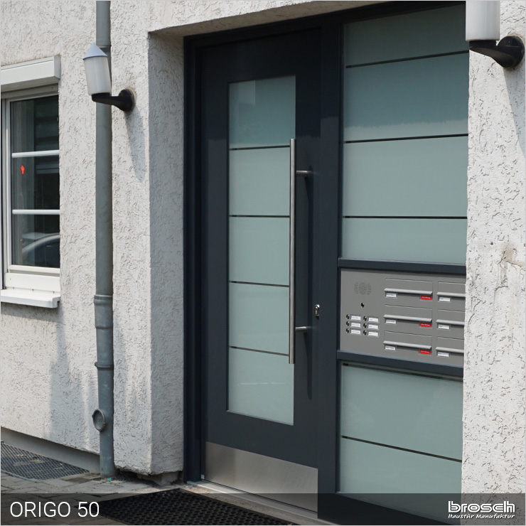 Besipielbild Haustür Origo50 Briefkasten